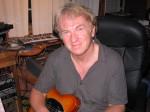 Clive Wright in Studio
