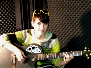 Kaki King in Echoes BLack Box