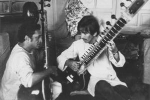 Ravi Shankar & George Harrison
