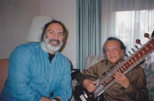 John Diliberto & Ravi Shankar, New York 1996