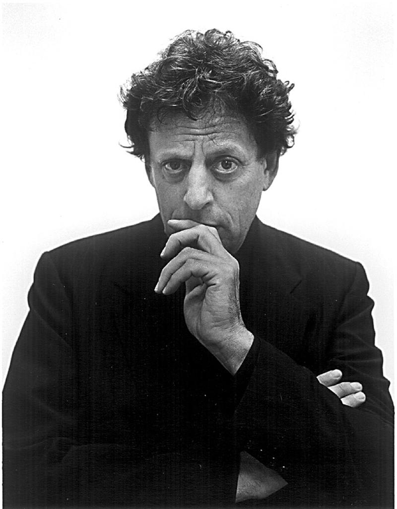 philip glass how tall
