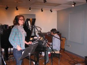Sally Ellyson & Dan Messé of Hem live on Echoes
