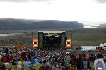 Main Stage at Sasquatch! Music Festival