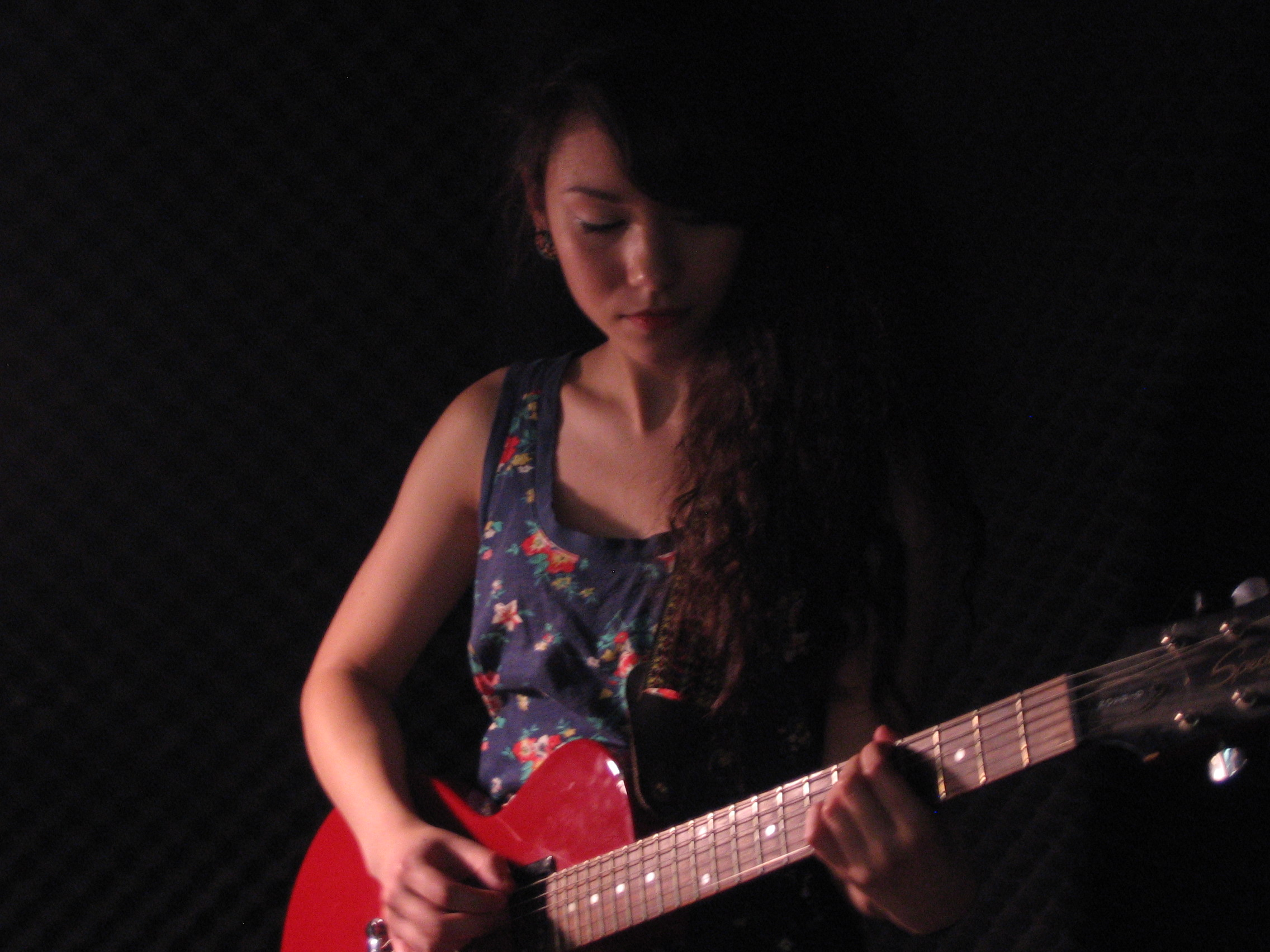 living room concerts. Mree  The Girl with the Red Guitar Live on Echoes Living Room Concerts Blog
