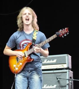 Paul Bielatowicz of the Carl Palmer Band