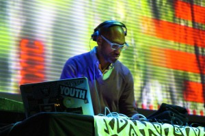King Britt Getting Digable @ MOEMS Photo: Diliberto
