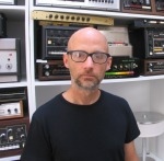 Moby & drum machine wall - Echoes Interview.