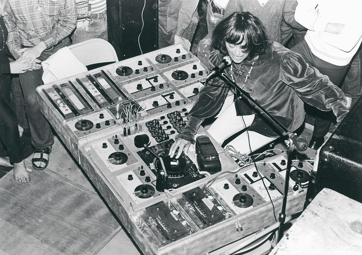 Electronic Pioneers Silver Apples On Echoes Tonight The Blog Audio Oscillators Simeon Playing In 1960s